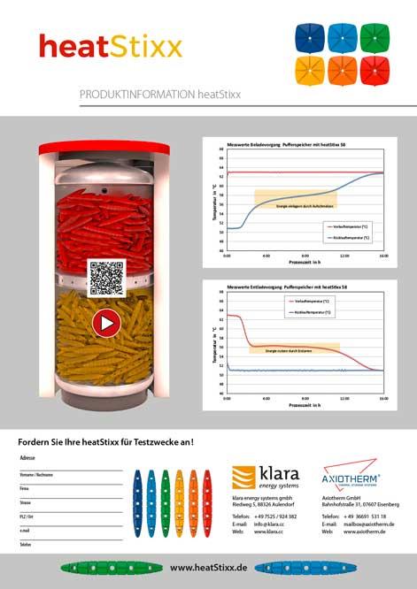 Factsheet heatStixx-Produkte