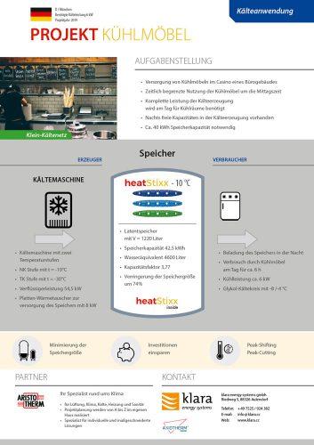 Factsheet Referenzen Kühlmöbel München