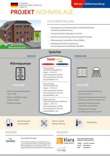 Factsheet Referenzen Wohnanlage Selfkant-Millen