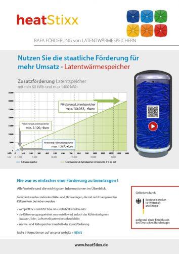 Factsheet Bild BAFA Förderung Latentspeicher