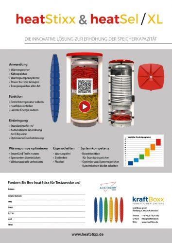 Factsheet Bild heatStixx Anwendung