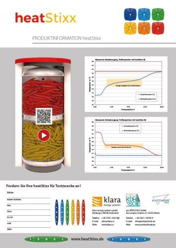 Factsheet Bild heatStixx Produktinformation D