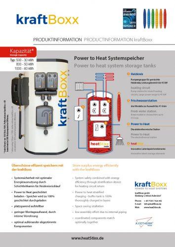 Factsheet Bild kraftBoxx Produktinformation